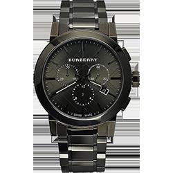 a705a5fef Kvalitné materiály a dizajn, ktorý na prvý pohľad vraví, že majiteľ hodiniek  je úspešným človekom, sú hlavné prednosti modelov značky. Čierny model  Burberry ...