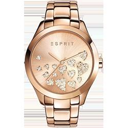 babc03fc6 Pokud chcete vsadit na něco tradičního, ale oblečeného v netradiční formě,  vyzkoušejte dámské hodinky Esprit ES107282006 v růžové barvě.