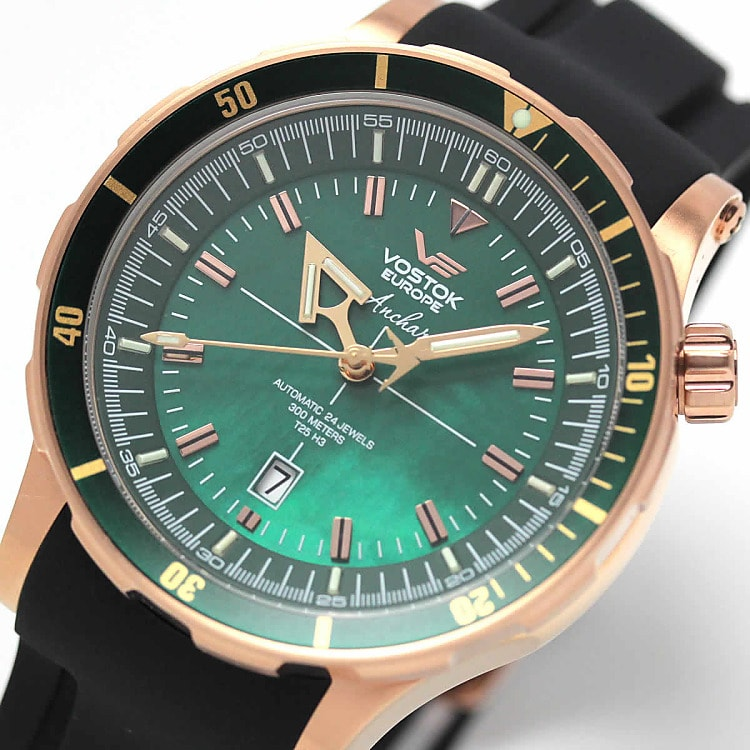 55c5be15b84 Vostok Europe Anchar Submarine Automatic - NH35A-5109248 - TimeStore.sk
