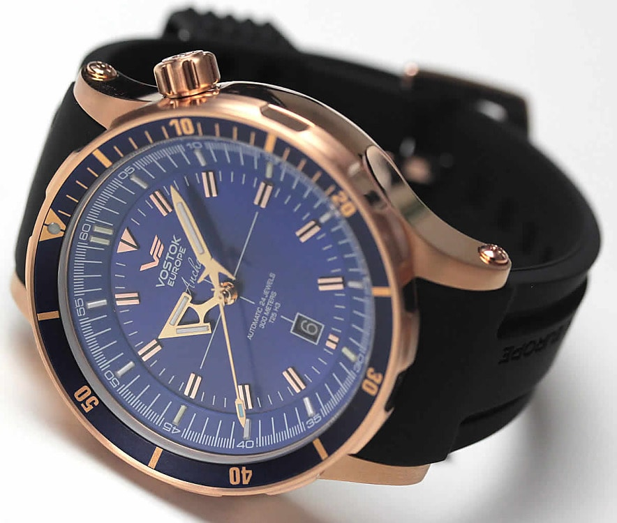 19a904af37e Vostok Europe Anchar Submarine Automatic - NH35A-5109246 - TimeStore.sk