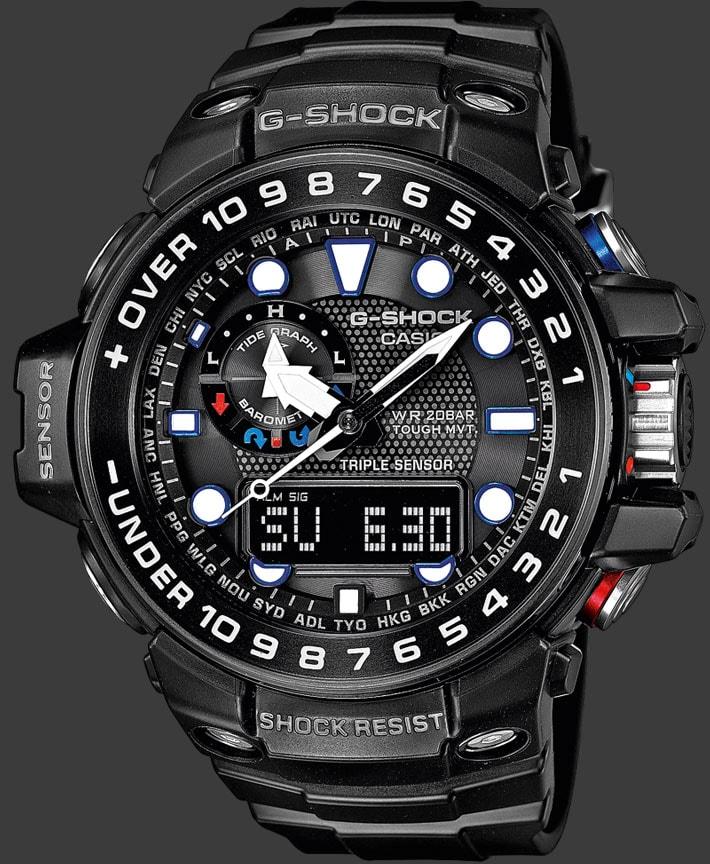 часы g shock gwn 1000b 1b casio какой