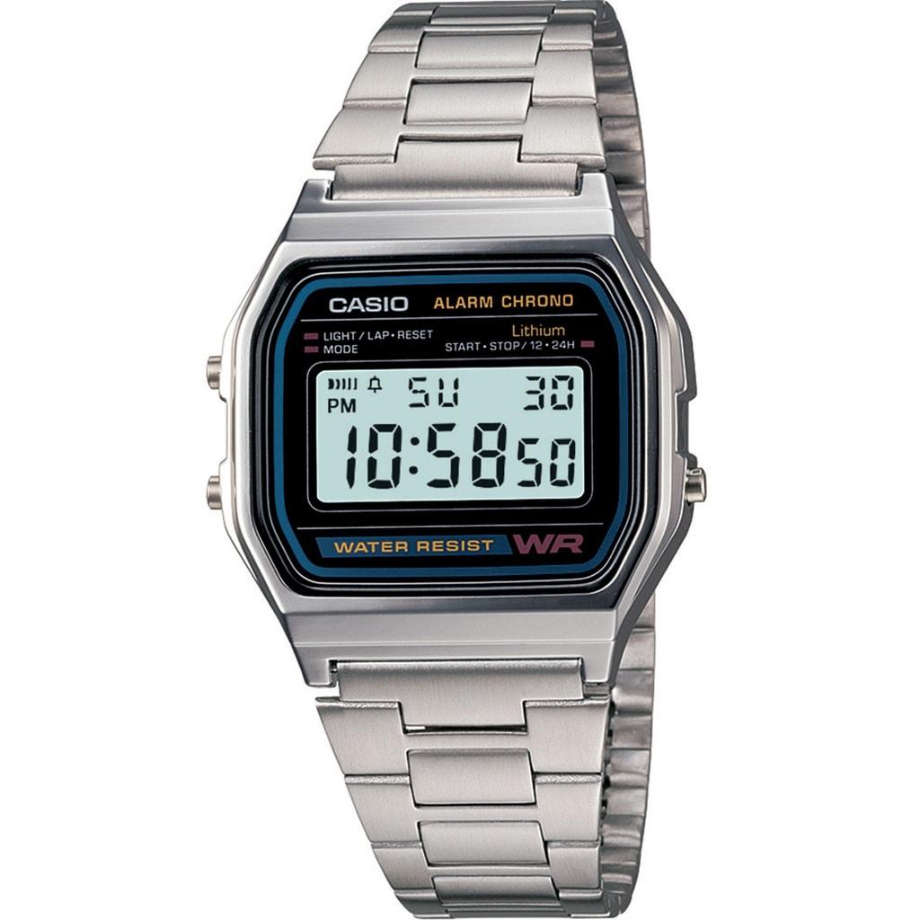 Hodinky Casio Retro Chronograph A158WA-1DF 52398e41ab9