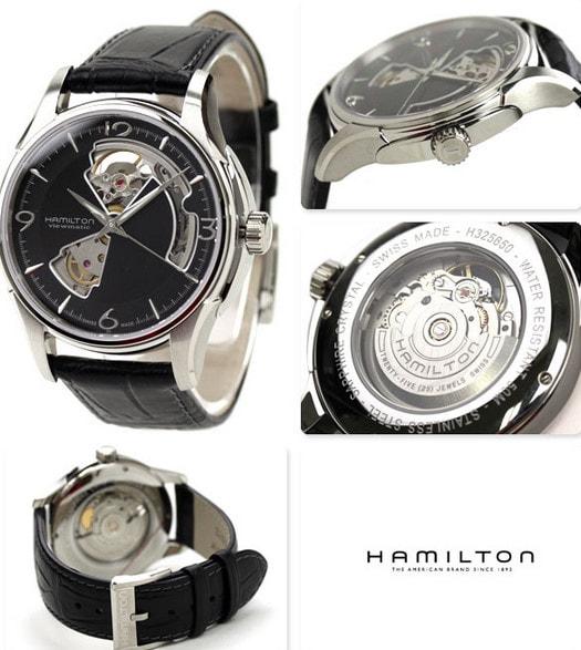 Hamilton Jazzmaster OPEN HEART AUTO - H32565735 - TimeStore.sk 1c8120cb181