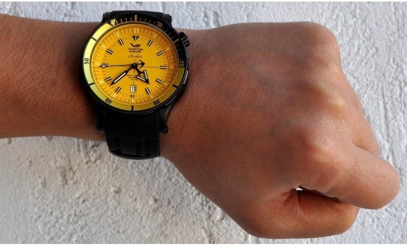 Vostok Europe Anchar Submarine Automatic - NH35A-5104144 - TimeStore.sk 3aa86c66589