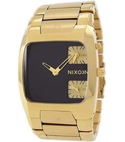 Hodinky Nixon Banks All Gold Black A060-510