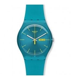 Hodinky Swatch Turquoise Rebel SUOL700