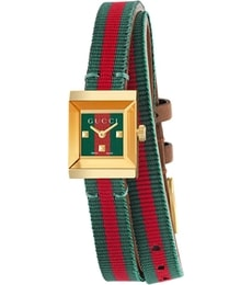 Hodinky Gucci G-Frame Red and Green YA128527
