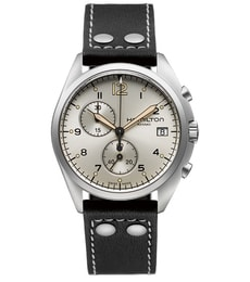 Hodinky Hamilton Aviation PILOT PIONEER CHRONO QUARTZ H76512755