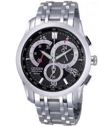 Hodinky Citizen Men's Eco-Drive Silver Stainless-Steel AT1007-51E
